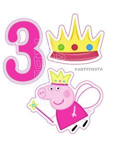 Peppa Pig Fairy Centerpiece GoPartyFiesta