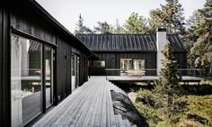 The minimalist home takes inspiration from Japanese architecture.