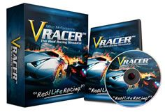 """Introducing 'Vracer' - The Real Racing Simulator:If you think """"Grand Turismo"""" is realistic, you ain't seen nothing yet! VRacer is designed to be 100% real with real physics, real cars and real international tracks! Fact is, no other driving simulator in the market beats this for sheer realism."""