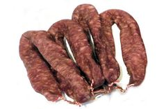 Groninger Worst. Typical Dutch Food, Dutch Recipes, Charcuterie, Catering, Cravings, Sausage, Bacon, Cooking, Breakfast