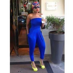 74981d63797 Fantasia Barrino s Blue Jumpsuit Fantasia Barrino