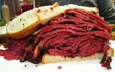 How to Eat a Giant Pastrami Sandwich Like a New Yorker