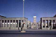 Government building in Afghanistan, 1965.