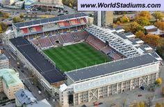 Past Stadiums :: Råsunda Stadion in Stockholm Soccer Stadium, Football Stadiums, Football Soccer, Stadium Architecture, Architecture Design, Soccer Kits, European Football, Stockholm, Past