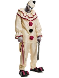 adult horror clown costume - Cheap Creepy Halloween Costumes