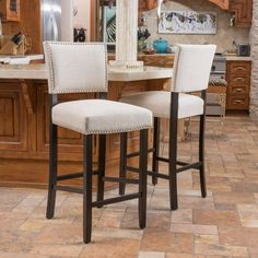 """Found it at Wayfair - Cleveland 30.5"""" Bar Stool with Cushion"""