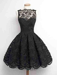 Lace Prom Dress, Homecoming Dresses Prom Dress Black, Prom Dress For Teens, Vintage Prom Dress, Black Lace Homecoming Dress Dresses Short, Formal Dresses, Dresses Dresses, 1950s Dresses, Beige Dresses, Dresses 2016, Mini Dresses, Ball Dresses, Girls Dresses