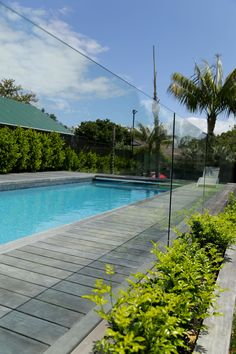 Glass Vice pool fencing