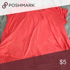Hi-low swing top Great to pair with jeans or yoga pants/leggings. Beautiful fun color Tops Tees - Short Sleeve