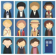 Collage: All The Doctors