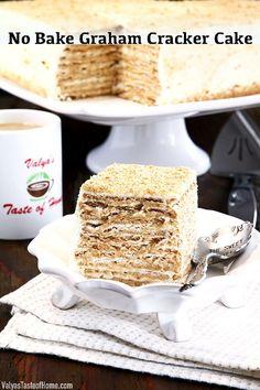 Best Dessert Recipes, No Bake Desserts, Holiday Recipes, Delicious Desserts, Winter Desserts, Thanksgiving Desserts, Christmas Desserts, Graham Cracker Cake, Graham Crackers