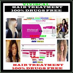 VIVISCAL TREATMENT....100% DRUGS FREE... Hair Care, Beauty and Personal Care Check out this great link http://www.jdoqocy.com/click-8043368-12137335-1442412616000 Website… http://farhatasha.wixsite.com/healthyhair Face book... http://www.facebook.com/adrfhihft