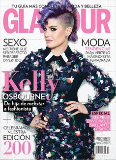 Kelly Osbourne for Glamour Mexico by Frankie Batista.