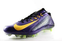 9240541ce0d Nike Men s Vapor Carbon Elite TD Football Cleat 657441 518 Purple Black Size  14  Nike  FootballCleats