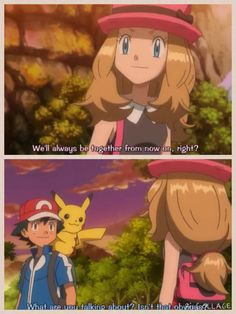 BULLSHIT! Wait until the last episode of the XY series. Remember Misty, May, Dawn, Iris? Serena enjoy your time while it last :(