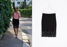 lace skirt www. Top H&m, Lace Skirt, Personal Style, Zara, Michael Kors, Skirts, Inspiration, Outfits, Fashion