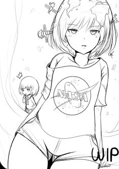 Earth-chan sketch by AtelierAstraea.deviantart.com on @DeviantArt