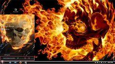 Evil Badass Windows 7 themes