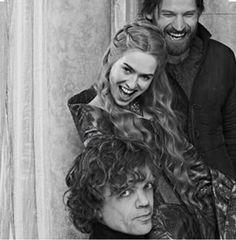 The Lannisters (Game of Thrones) Peter Dinklage as Tyrion, Lena Headey as Cersei, and Nikolaj Coster-Waldau as Jaime Cersei Lannister, Jaime Lannister, Lannister Family, Daenerys Targaryen, Khaleesi, Serie Got, Film Serie, Khal Drogo, Winter Is Here