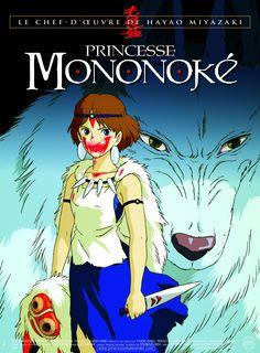 #137 Princess Mononoke 1997 (Dir. Hayao Miyazaki. With voices of Claire Danes, Billy Crudup, Gillian Anderson, Billy Bob Thornton, Minnie Driver)