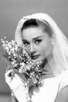 Audrey Hepburn in Funny Face (1957).