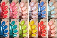 China Glaze - Road Trip Collection, Spring 2015: Swatches & Review