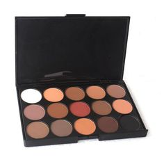 15 Color Matte Pigment Eyeshadow Palette Cosmetic Makeup Eye Shadow for women ** Read more reviews of the product by visiting the link on the image. (Note:Amazon affiliate link)