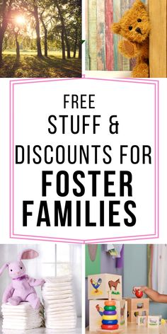 Foster family discounts that will help save you money at parks, stores, retail locations, all because these companies want to share with foster families how much they mean to them to foster parent! Thank you for serving our communities and making a difference in other people's lives. Find more information at getyourholidayon.com. Foster Family, Foster Mom, Foster Care, Foster Parenting, Parenting Advice, Adoption Quotes, Diy Party, Party Favors, Foster To Adopt