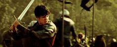 Edmund in the Second Battle of Beruna Narnia Book Series, Chronicles Of Narnia Books, Narnia Cast, Narnia 3, Epic Movie, Movie Tv, Skandar Keynes, Edmund Pevensie, Georgie Henley