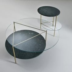 Most homes today will probably have a glass coffee table since it is extremely common. This type of coffee table tends to add elegance and style to any room. The type of glass that is used for the table top is smoked or a clear thick pane. Metal Furniture, Table Furniture, Furniture Design, Coffe Table, Coffee Table Design, Center Table, Furniture Inspiration, Decoration, Home Decor