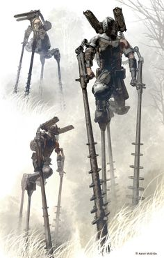 [Acid Field Sweepers on recon mission] by tóraidhe