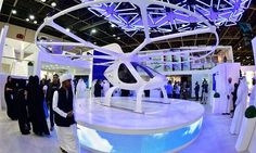From #flying taxis to robocops, #Dubai #tech pioneer...