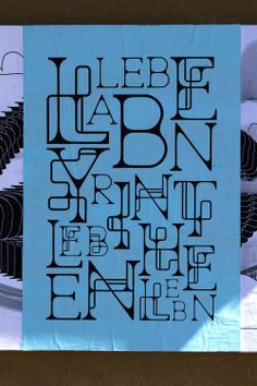 Diseño con tipografías!