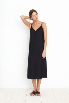 JOSEFINA SLIP DRESS | Apiece Apart