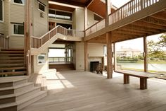 Custom home on Figure Eight totals over 6500 sq. ft. with views from every window.