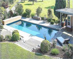 von der terrasse in den pool - Google-Suche Garden Design, Outdoor Decor, Inspiration, Board, Home Decor, Gardening, Loft, Elegant, Google
