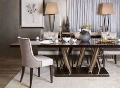 Aldgate Tables Desks The Sofa Chair Company Luxury Dining