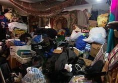 From TLC, Hoarding: Buried Alive: Bedroom: Before If Linda can't get her house up to code in 60 days, they'll take it away and she'll be back on the streets. Take a look at pictures of Linda's home before she received help from a professional organizer.
