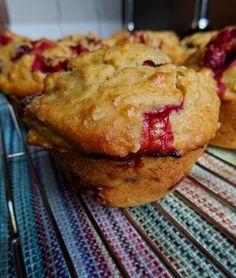 Muffins canneberges orange 2