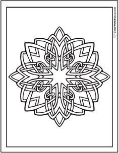ColorWithFuzzy.com Celtic Designs: Shannon Celtic Coloring