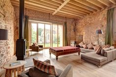 Astley Castle in Warwickshire, England, a National Trust vacation rental restored and resurrected by Witherford Watson Mann Architects. The firm won the prestigious RIBA prize for their design. | Remodelista.