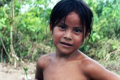 https://flic.kr/p/5mq1y | Amerindian girl | Taken in the Cayuni region of Guyana, South America. 2nd poorest country in the Western hemisphere (behind Haiti). Amerindians live in the interior region of the country and take up ~7% of the population. They are native to Guyana and are the most impoverished of the inhabitants.
