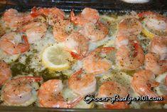 Roasted Lemon Garlic & Herb Shrimp