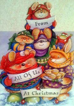 Christmas Graphics, Christmas Clipart, Vintage Christmas Cards, Christmas Pictures, Xmas Cards, Christmas Postcards, Greeting Cards, Christmas Topper, Christmas Art