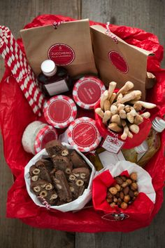 cestino natalizio 0742 Homemade Christmas Gifts, Homemade Gifts, Cookie Tray, Fett, Christmas Cookies, Crafts For Kids, Xmas, Packaging, Gift Wrapping