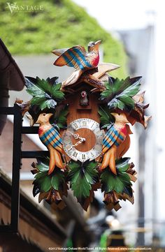 Rudesheim~Germany coockoo clock .. My goal - is to bring one of these home with us this summer!!