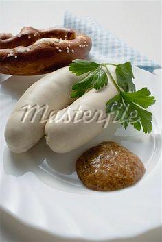 """""""Weißwurst mit Bretzel"""" from Germany #food"""
