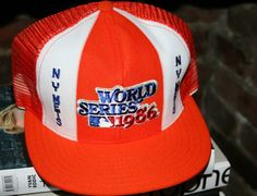 "1986 World Series | Vintage NY METS ""1986 World Series"" Snapback Cap - Oh Snapbacks ..."