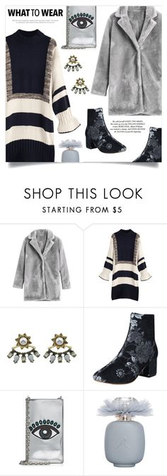 """Wow Factor: Faux Fur"" by mahafromkailash ❤ liked on Polyvore featuring Kenzo"