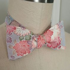 Check out this item in my Etsy shop https://www.etsy.com/listing/289142057/silk-self-tie-bow-tie-vintage-japanese